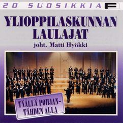 Petri Laaksonen, Ylioppilaskunnan Laulajat - YL Male Voice Choir: Laaksonen : Tein lasinkuultavan laulun (I Made A Glass-clear Song)