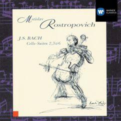Mstislav Rostropovich: 6 Suites (Sonatas) for Cello, BWV 1007-12, Suite No.3 in C Major, BWV 1009: Sarbande
